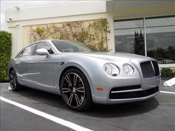 2016 Bentley Flying Spur V8 for sale in West Palm Beach, FL