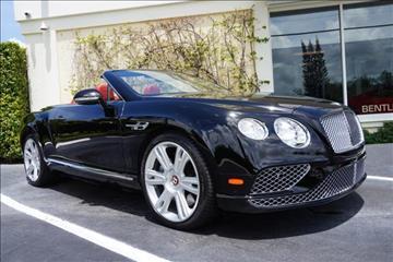 2016 Bentley Continental GTC V8