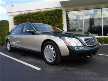 2004 Maybach 62 for sale in West Palm Beach, FL
