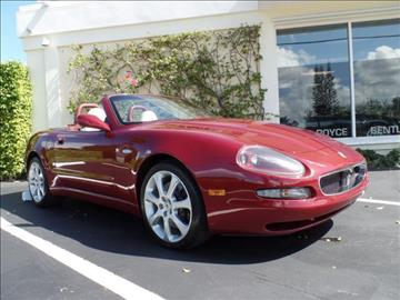 2004 Maserati Spyder for sale in West Palm Beach, FL