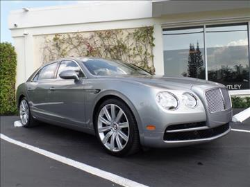 2015 Bentley Flying Spur V8 for sale in West Palm Beach, FL