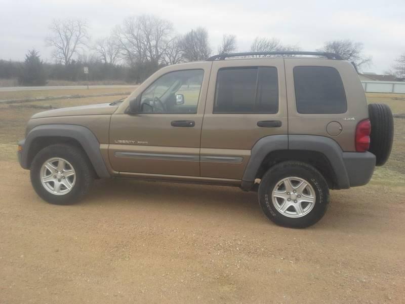 2002 Jeep Liberty For Sale At CAVENDER MOTORS In Van Alstyne TX