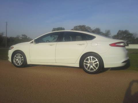 2013 Ford Fusion for sale at CAVENDER MOTORS in Van Alstyne TX