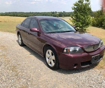 2006 Lincoln LS for sale at CAVENDER MOTORS in Van Alstyne TX