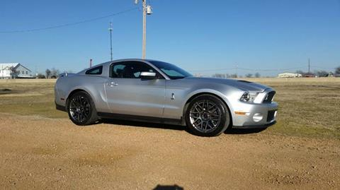 2012 Ford Shelby GT500 for sale in Van Alstyne, TX