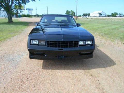 1986 chevrolet monte carlo for sale. Black Bedroom Furniture Sets. Home Design Ideas