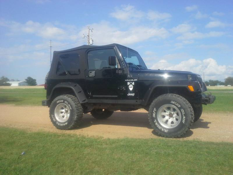 2002 jeep wrangler x in van alstyne tx cavender motors. Black Bedroom Furniture Sets. Home Design Ideas