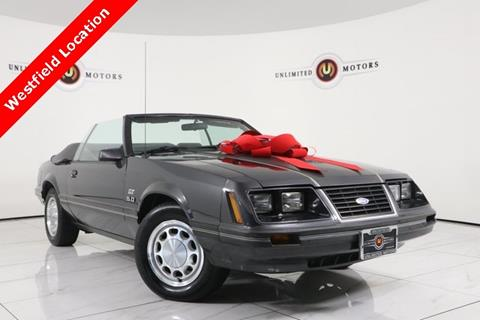 1984 Ford Mustang for sale in Westfield, IN