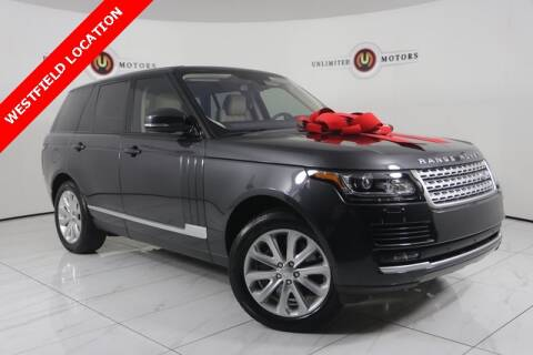 2016 Land Rover Range Rover for sale at INDY'S UNLIMITED MOTORS - UNLIMITED MOTORS in Westfield IN