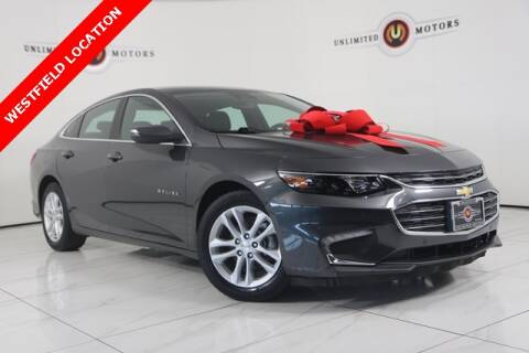 2017 Chevrolet Malibu Hybrid for sale at INDY'S UNLIMITED MOTORS - UNLIMITED MOTORS in Westfield IN