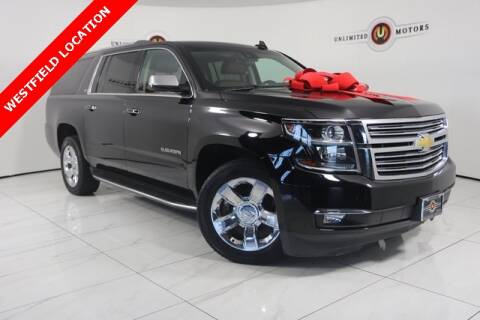 2016 Chevrolet Suburban LTZ 1500 for sale at INDY'S UNLIMITED MOTORS - UNLIMITED MOTORS in Westfield IN