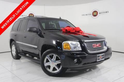 2008 GMC Envoy SLT for sale at INDY'S UNLIMITED MOTORS - UNLIMITED MOTORS in Westfield IN