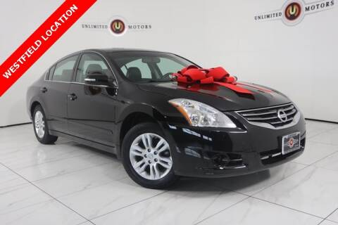 2011 Nissan Altima 2.5 SL for sale at INDY'S UNLIMITED MOTORS - UNLIMITED MOTORS in Westfield IN