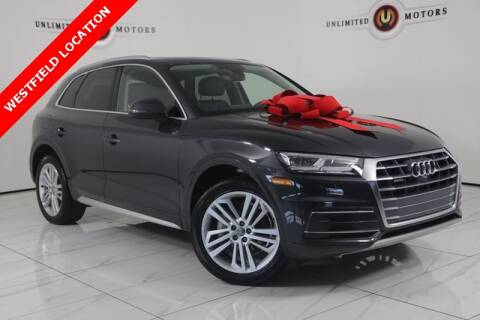 2018 Audi Q5 for sale at INDY'S UNLIMITED MOTORS - UNLIMITED MOTORS in Westfield IN