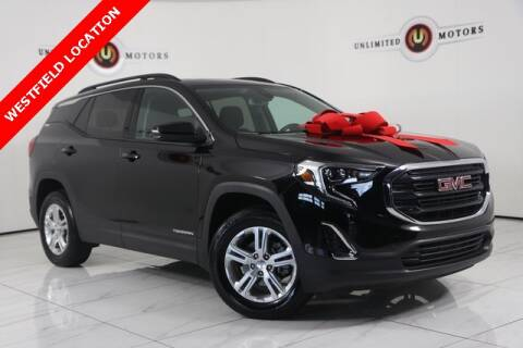 2020 GMC Terrain for sale at INDY'S UNLIMITED MOTORS - UNLIMITED MOTORS in Westfield IN