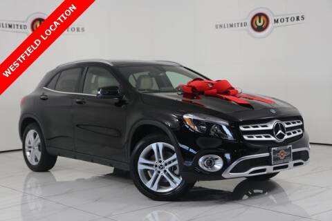 2019 Mercedes-Benz GLA for sale at INDY'S UNLIMITED MOTORS - UNLIMITED MOTORS in Westfield IN