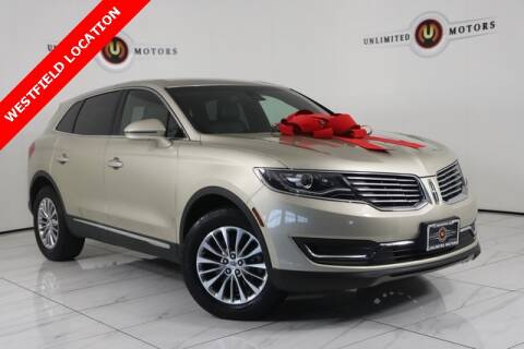 2017 Lincoln MKX for sale at INDY'S UNLIMITED MOTORS - UNLIMITED MOTORS in Westfield IN