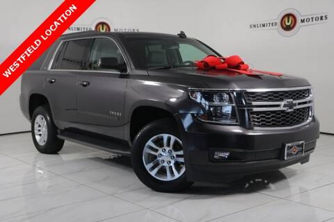 2017 Chevrolet Tahoe for sale at INDY'S UNLIMITED MOTORS - UNLIMITED MOTORS in Westfield IN