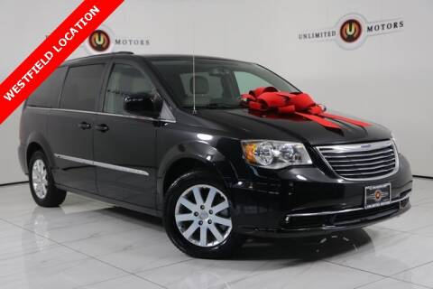 2016 Chrysler Town and Country for sale at INDY'S UNLIMITED MOTORS - UNLIMITED MOTORS in Westfield IN