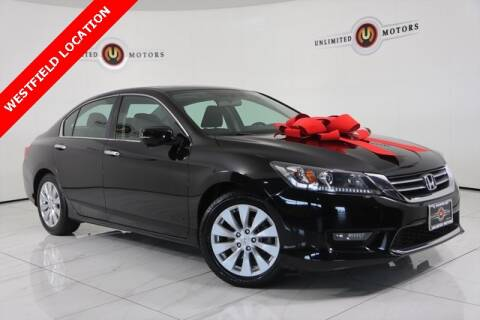 2015 Honda Accord for sale at INDY'S UNLIMITED MOTORS - UNLIMITED MOTORS in Westfield IN
