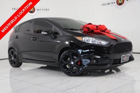 2017 Ford Fiesta for sale at INDY'S UNLIMITED MOTORS - UNLIMITED MOTORS in Westfield IN
