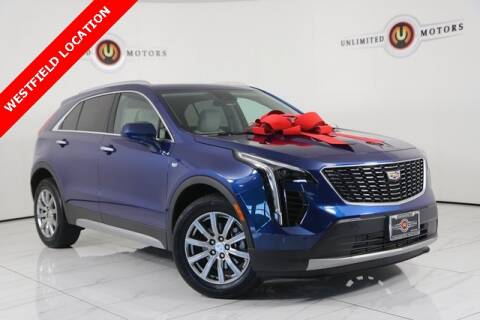 2019 Cadillac XT4 for sale at INDY'S UNLIMITED MOTORS - UNLIMITED MOTORS in Westfield IN