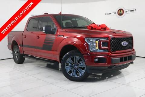 2018 Ford F-150 for sale at INDY'S UNLIMITED MOTORS - UNLIMITED MOTORS in Westfield IN