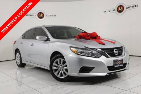 2016 Nissan Altima for sale at INDY'S UNLIMITED MOTORS - UNLIMITED MOTORS in Westfield IN