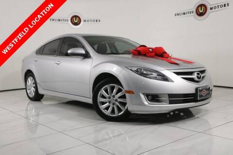 2012 Mazda MAZDA6 for sale at INDY'S UNLIMITED MOTORS - UNLIMITED MOTORS in Westfield IN