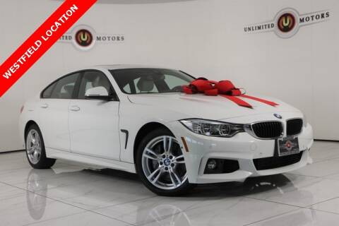 2016 BMW 4 Series for sale at INDY'S UNLIMITED MOTORS - UNLIMITED MOTORS in Westfield IN