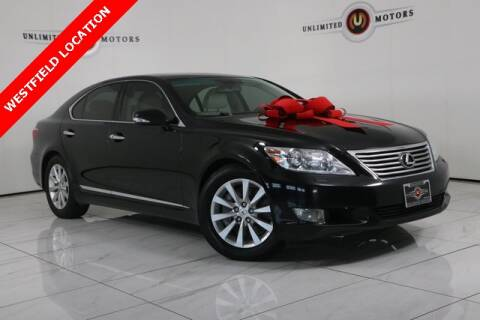 2012 Lexus LS 460 for sale at INDY'S UNLIMITED MOTORS - UNLIMITED MOTORS in Westfield IN