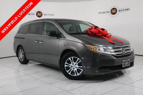 2013 Honda Odyssey for sale at INDY'S UNLIMITED MOTORS - UNLIMITED MOTORS in Westfield IN