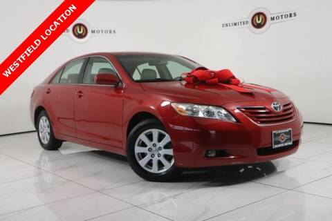 2007 Toyota Camry for sale at INDY'S UNLIMITED MOTORS - UNLIMITED MOTORS in Westfield IN