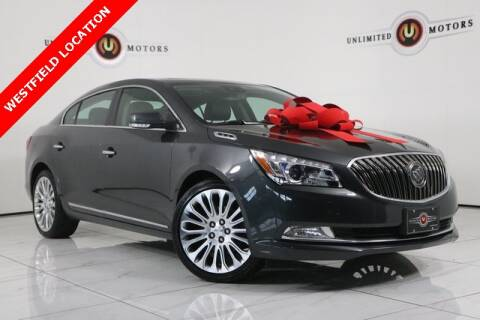 2016 Buick LaCrosse for sale at INDY'S UNLIMITED MOTORS - UNLIMITED MOTORS in Westfield IN