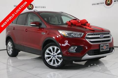 2017 Ford Escape for sale at INDY'S UNLIMITED MOTORS - UNLIMITED MOTORS in Westfield IN