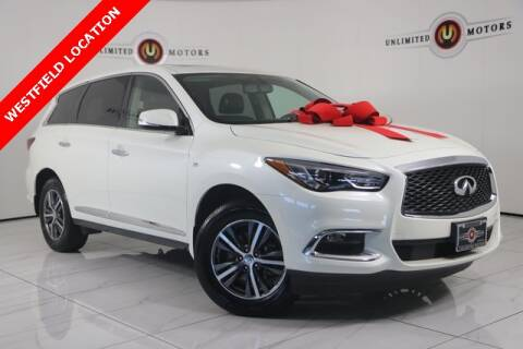 2017 Infiniti QX60 for sale at INDY'S UNLIMITED MOTORS - UNLIMITED MOTORS in Westfield IN