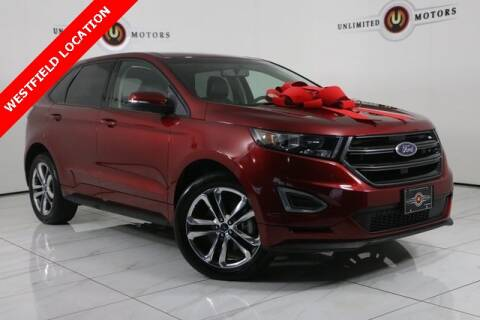 2017 Ford Edge for sale at INDY'S UNLIMITED MOTORS - UNLIMITED MOTORS in Westfield IN