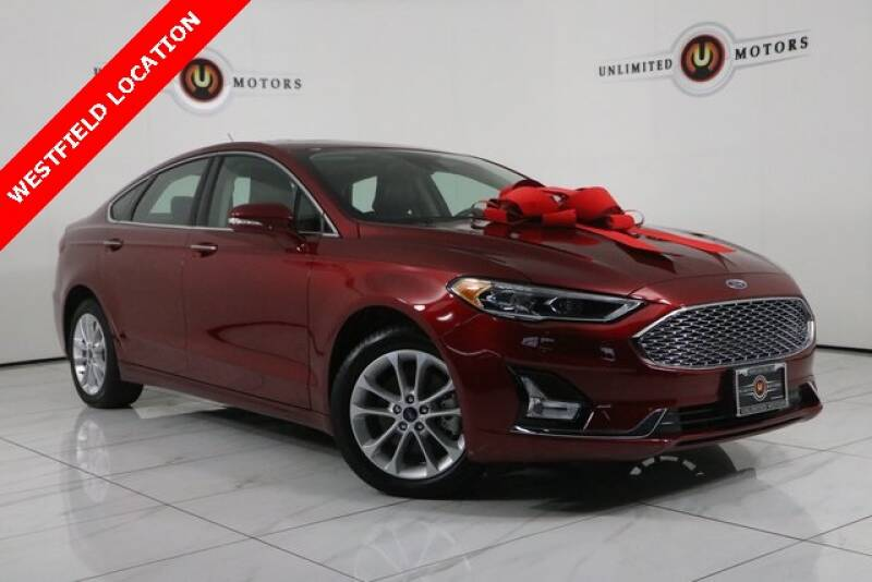 2019 Ford Fusion Energi for sale at INDY'S UNLIMITED MOTORS - UNLIMITED MOTORS in Westfield IN