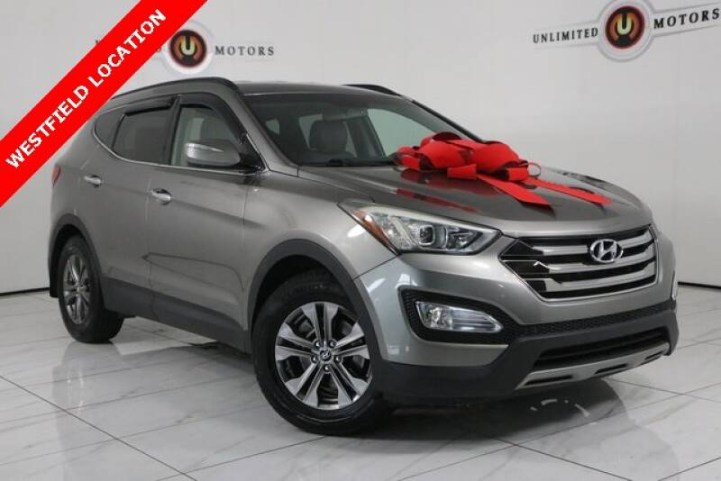 2013 Hyundai Santa Fe Sport for sale at INDY'S UNLIMITED MOTORS - UNLIMITED MOTORS in Westfield IN