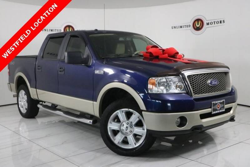 2008 Ford F-150 for sale at INDY'S UNLIMITED MOTORS - UNLIMITED MOTORS in Westfield IN