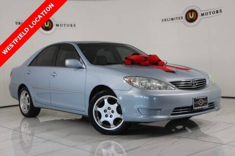 2005 Toyota Camry for sale at INDY'S UNLIMITED MOTORS - UNLIMITED MOTORS in Westfield IN