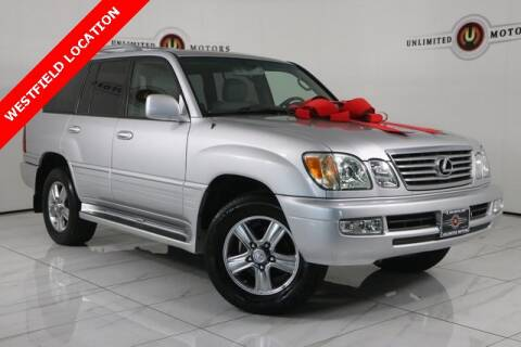 2006 Lexus LX 470 for sale at INDY'S UNLIMITED MOTORS - UNLIMITED MOTORS in Westfield IN