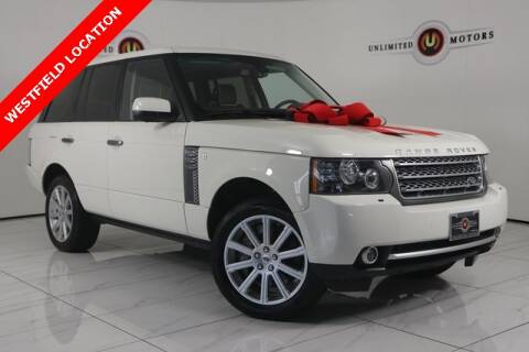 2010 Land Rover Range Rover for sale at INDY'S UNLIMITED MOTORS - UNLIMITED MOTORS in Westfield IN