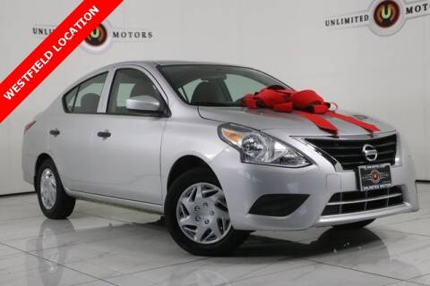 2016 Nissan Versa for sale at INDY'S UNLIMITED MOTORS - UNLIMITED MOTORS in Westfield IN