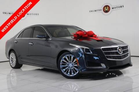 2014 Cadillac CTS for sale at INDY'S UNLIMITED MOTORS - UNLIMITED MOTORS in Westfield IN