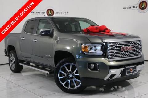 2017 GMC Canyon for sale at INDY'S UNLIMITED MOTORS - UNLIMITED MOTORS in Westfield IN