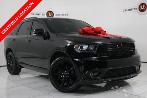 2017 Dodge Durango for sale at INDY'S UNLIMITED MOTORS - UNLIMITED MOTORS in Westfield IN