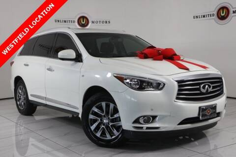 2015 Infiniti QX60 for sale at INDY'S UNLIMITED MOTORS - UNLIMITED MOTORS in Westfield IN