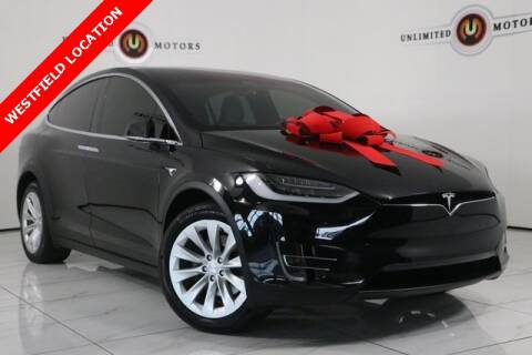 2017 Tesla Model X for sale at INDY'S UNLIMITED MOTORS - UNLIMITED MOTORS in Westfield IN