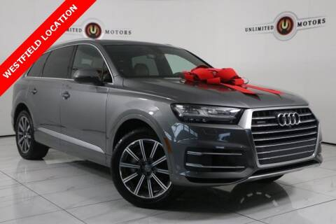 2017 Audi Q7 for sale at INDY'S UNLIMITED MOTORS - UNLIMITED MOTORS in Westfield IN